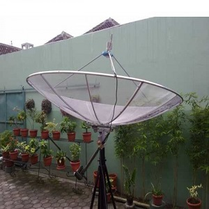 Antena Parabola Gerak