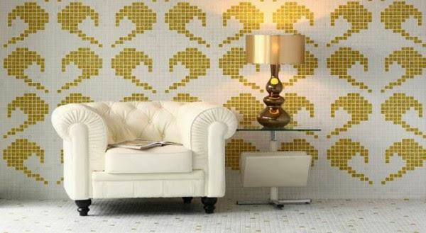 Decoracion actual de moda paredes de gresite for Decoracion actual