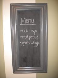 chalkboard...SOLD