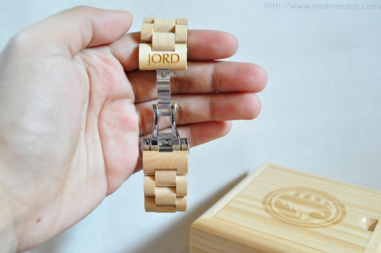 JORD Wood Watch in Ely Maple Review
