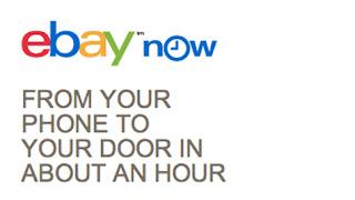 Ebay now: service de livraison ultra rapide