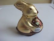Here we have the Ferrero Rocher Easter Bunny. I found this little fella for . ferrero rocher gold easter bunny