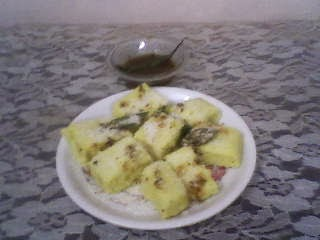 recipe of making microwave dhokla