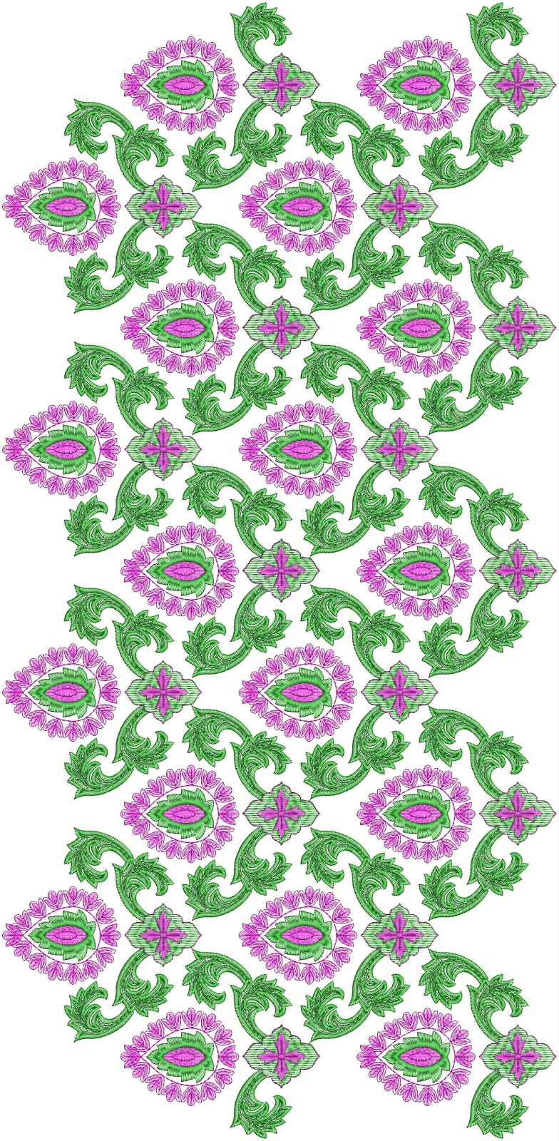 Mirror Embroidery Patterns