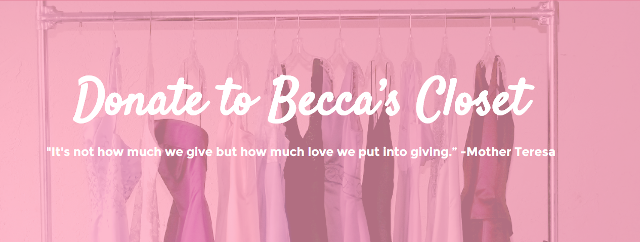 Donate to Becca's Closet
