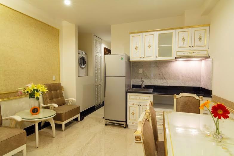 Phòng bếp cho thue can ho ngan han tphcm