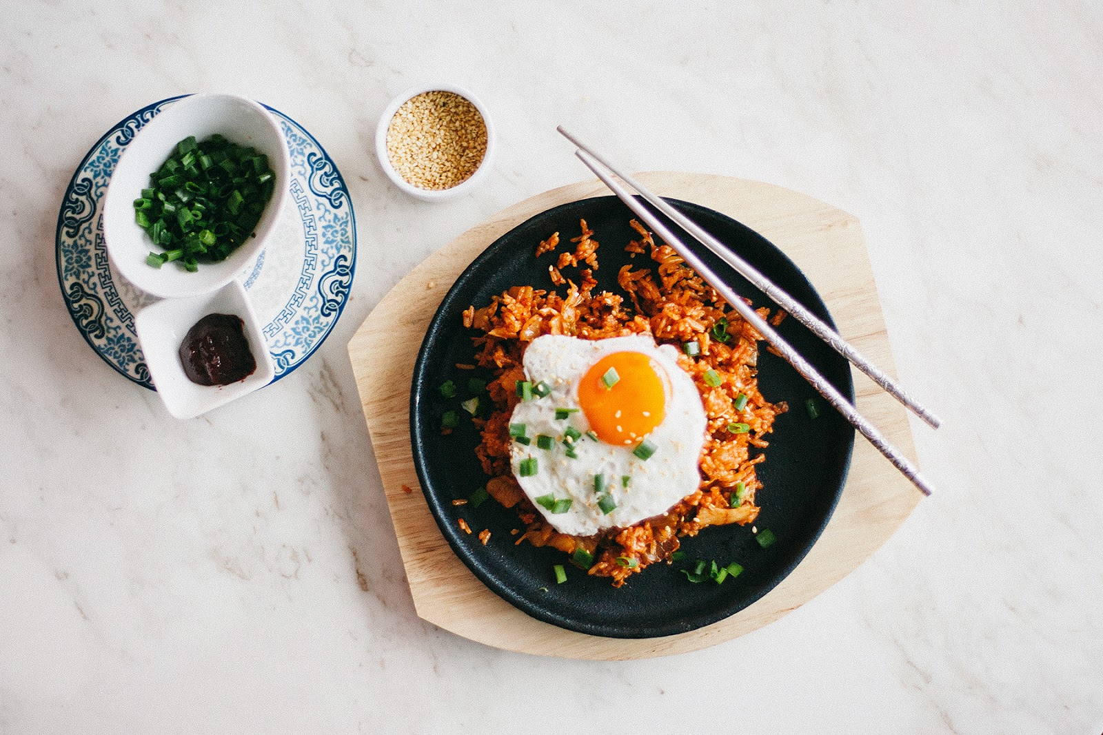 how to make kimchi fried rice without gochujang