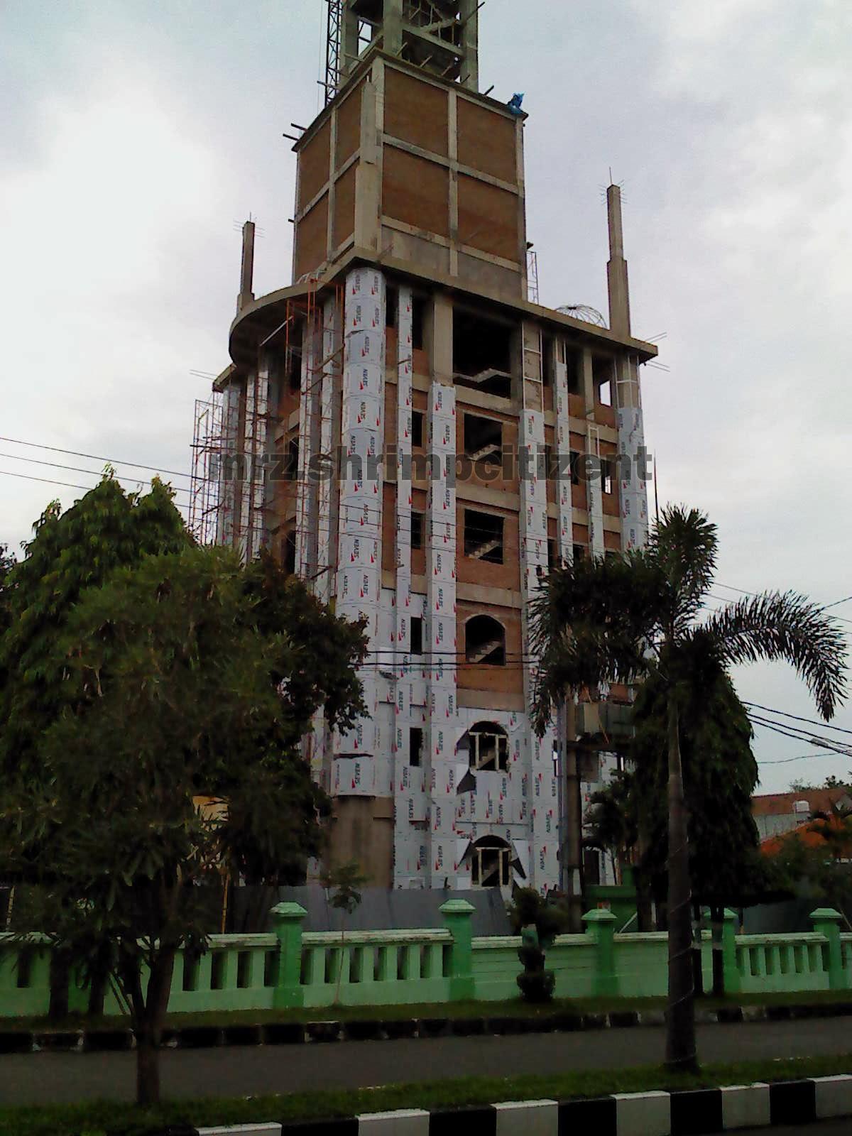 Pembangunan Menara Masjid Agung Sumber, Kab. Cirebon 7