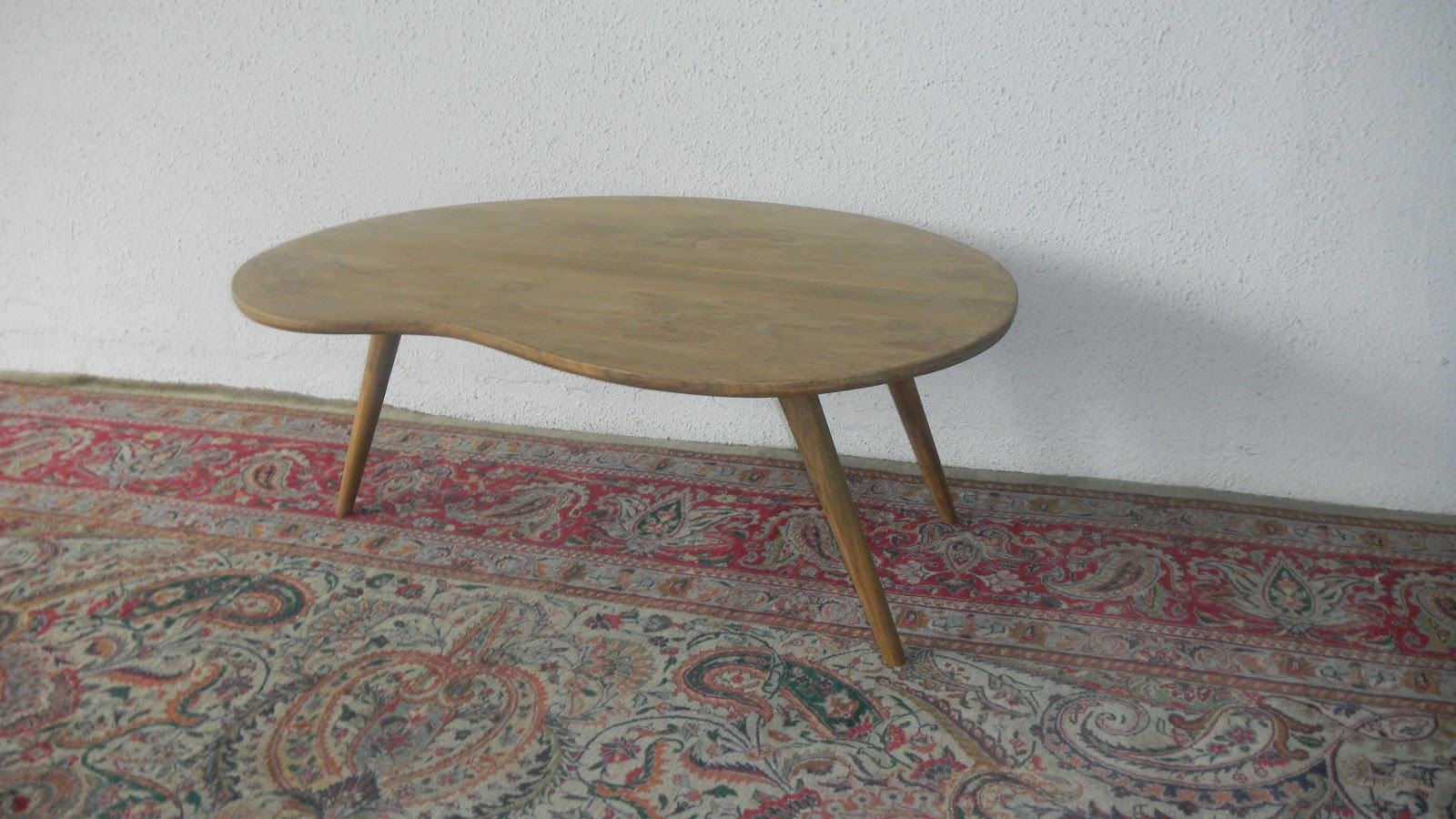 Second charm collections midcentury modern coffee tables slightly lower than normal coffee table height 450 geotapseo Images