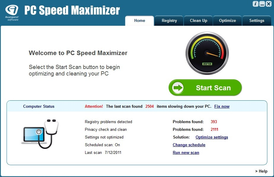 speed up computer free software