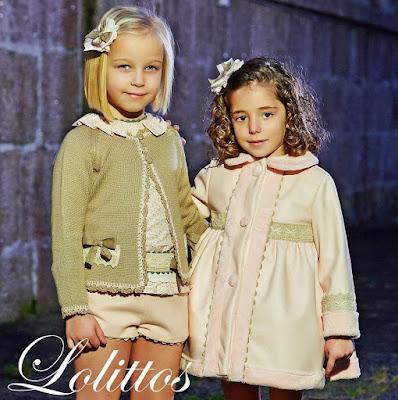 Abrigos de niña polipiel de Lolittos