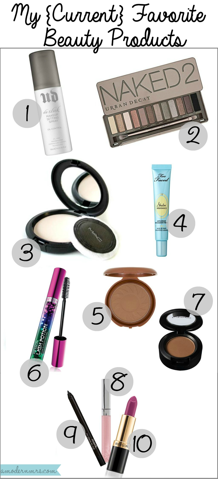 My {Current} Favorite Beauty Products — A Modern Mrs.