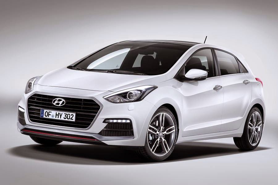 Hyundai i30 Turbo 5-Door (2015) Front Side