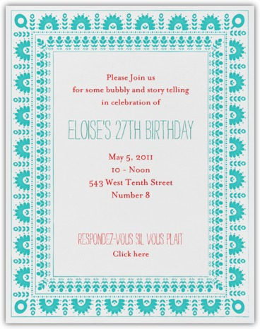 pool party birthday party there are even wedding invitations