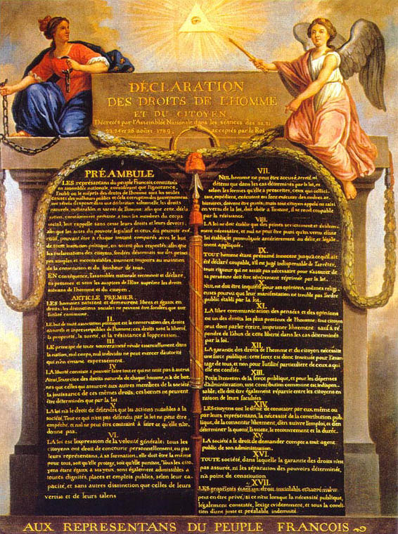 declaration of the rights of man Looking for declaration of the rights of man and citizen find out information about declaration of the rights of man and citizen a fundamental document of french constitutional history, drafted by emmanuel siey s siey s, emmanuel joseph.