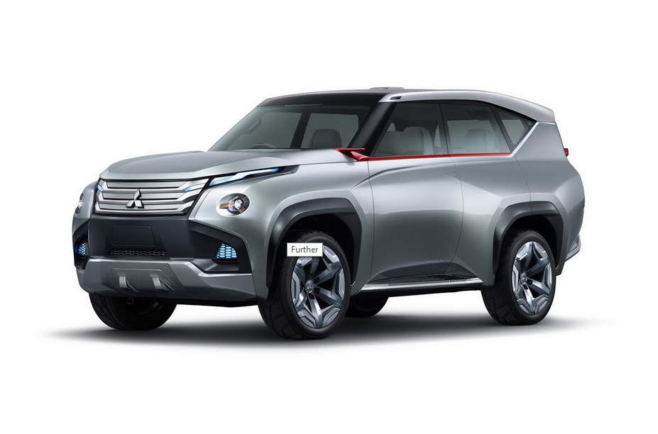 Mitsubishi Pajero, and Mitsubishi Pajero Sport or some new hybrids