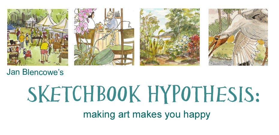 Jan Blencowe's Sketchbook Hypothesis