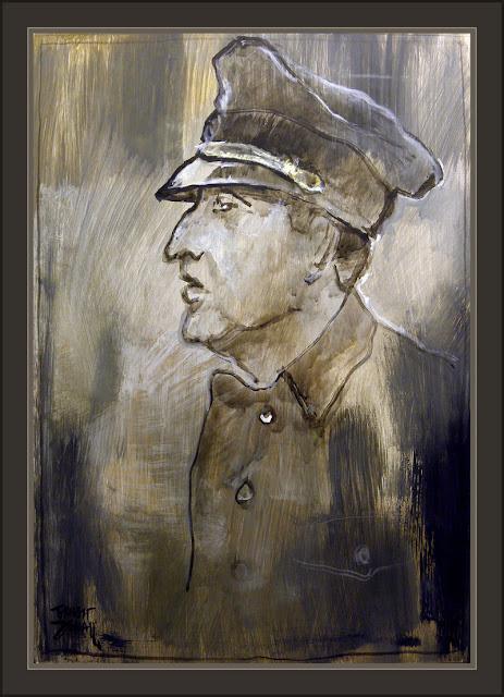 KAMINSKI-RONA-WW2-ARTE-ART-SEGUNDA GUERRA MUNDIAL-BRIGADA-SS-PINTURA-PINTOR-ERNEST DESCALS-