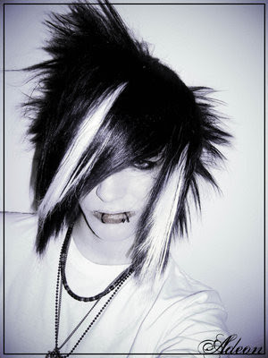 emo guy hairstyles. cool emo hairstyles for guys.