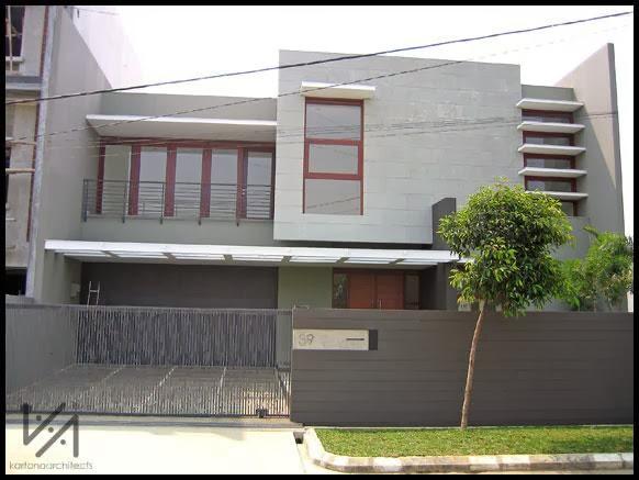 Referensi Rumah Modern Bandung 2013