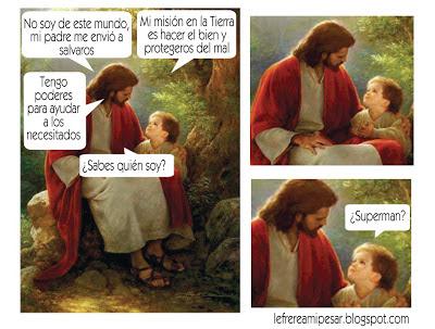 """Superman"", ""jesucristo"", ""cristo"""