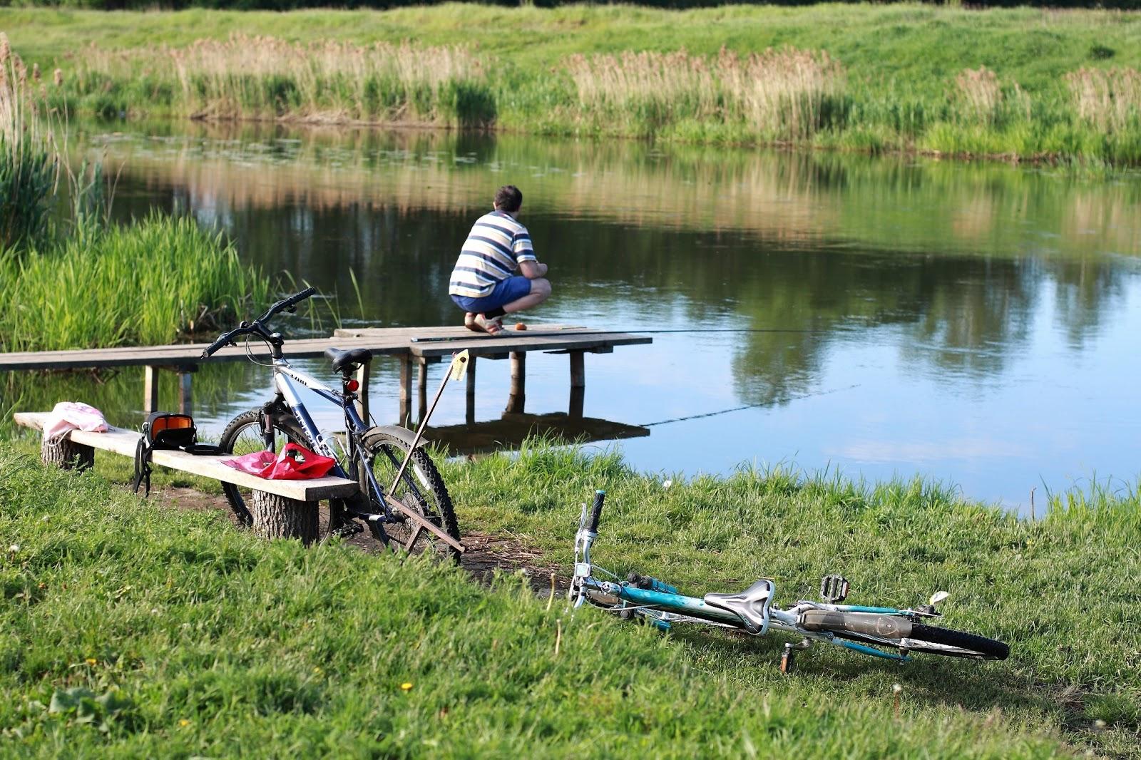 начале мая ловят рыбу