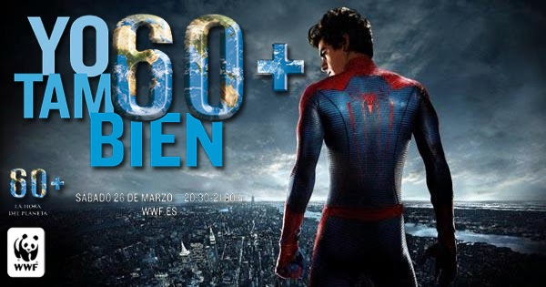 """Spider-Man apoya """"La Hora del Planeta"""""""