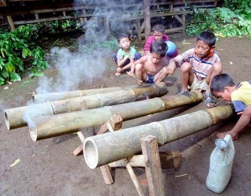 meriam bambu koto anau