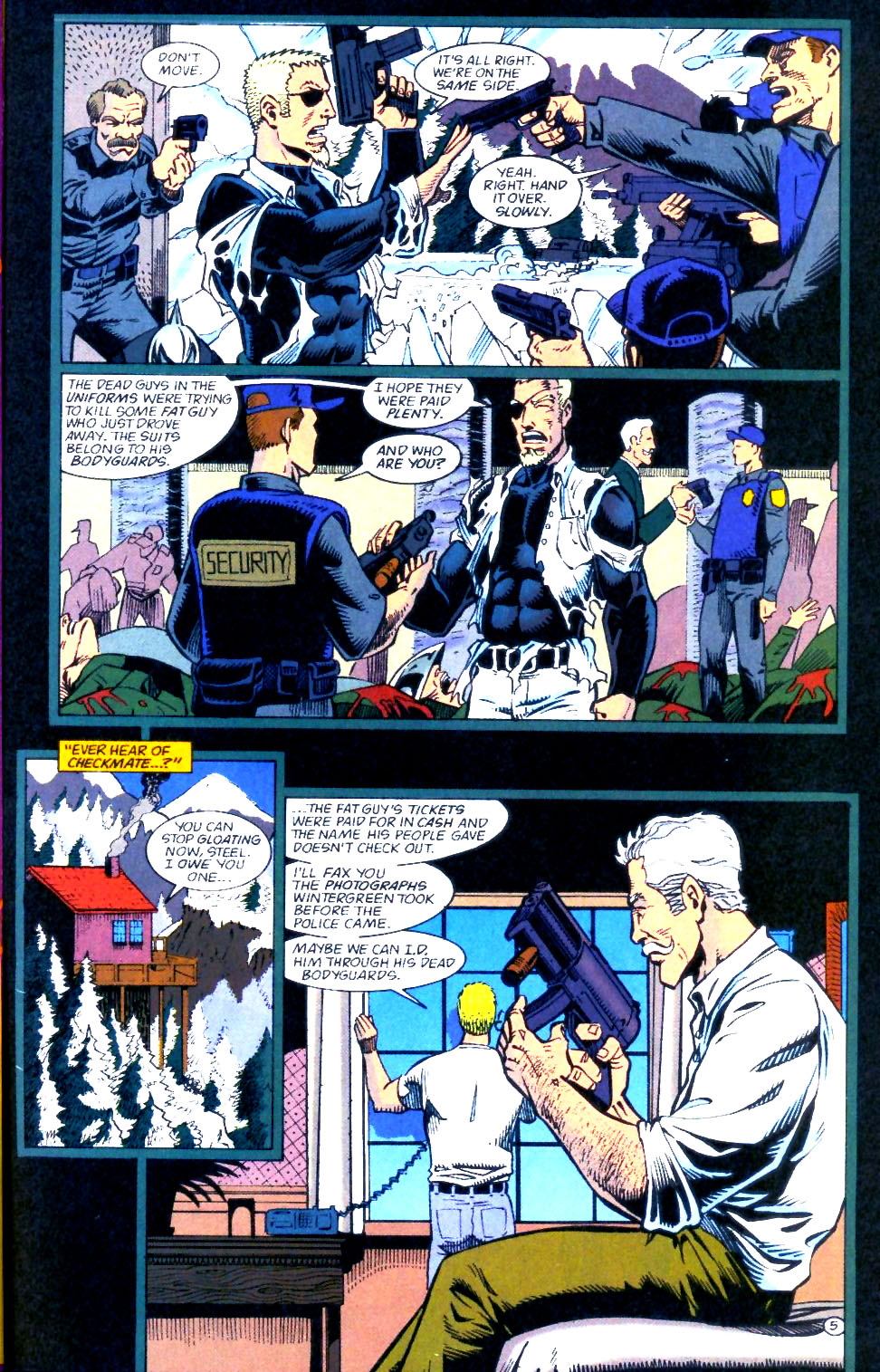 Deathstroke (1991) Issue #56 #61 - English 6