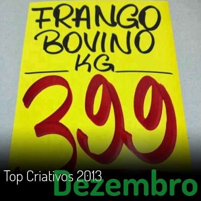 Top 10 criativos de 2013 - Dezembro