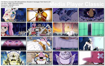 Download Film One Piece Episode 366 (Mengalahkan Absalom! Serangan Petir Nami!) Bahasa Indonesia