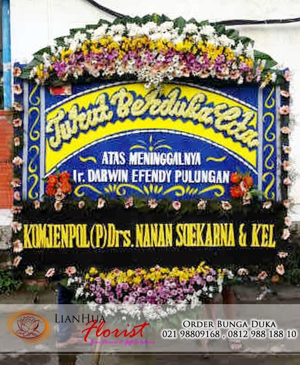 karangan bunga duka cita, bunga untuk orang meninggal, bunga papan duka cita, toko karangan bunga, toko bunga jakarta
