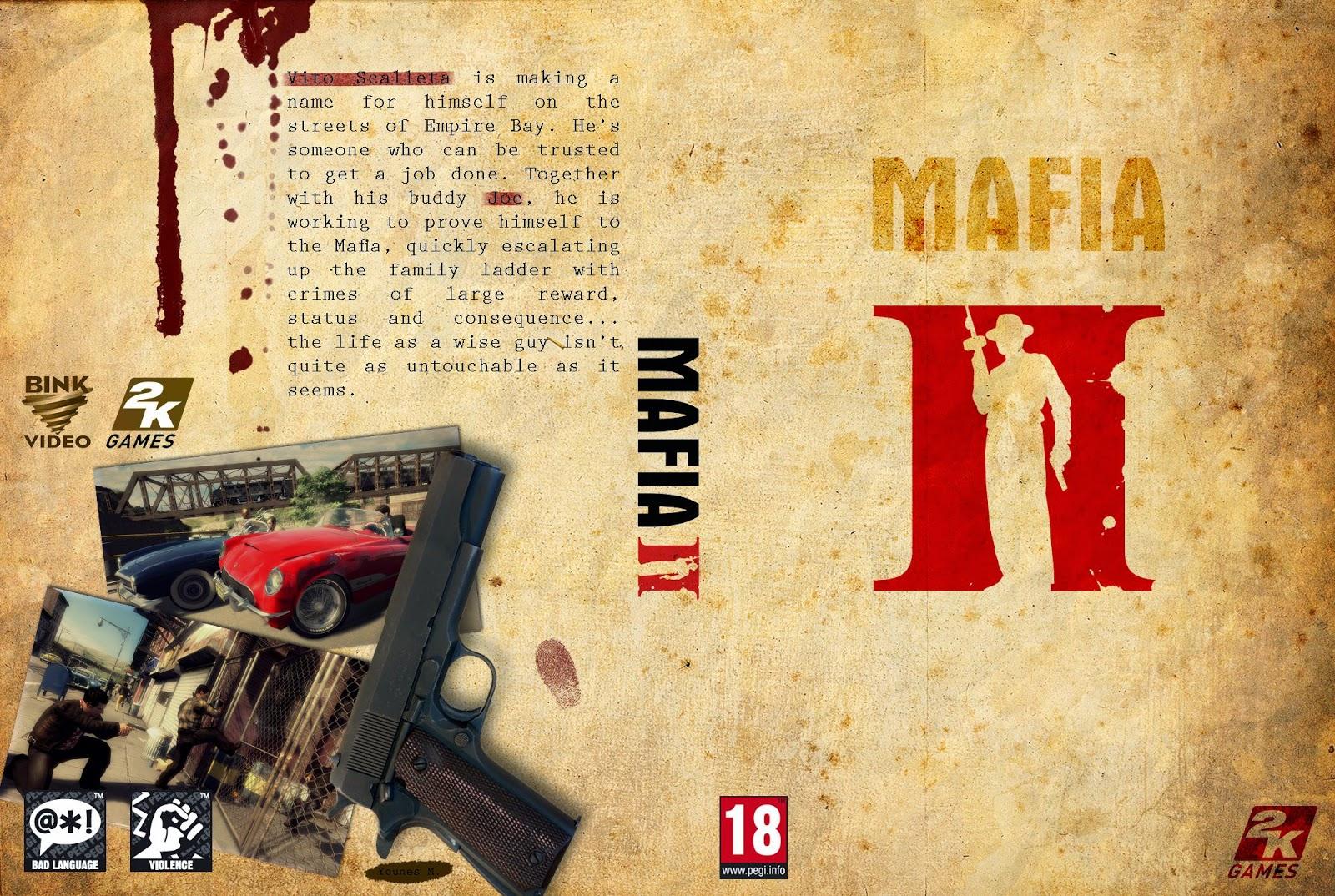 Capa Mafia II PC