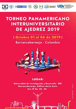 Torneo Panamericano Universitario de Ajedrez 2019 (Dar clic a la imagen)