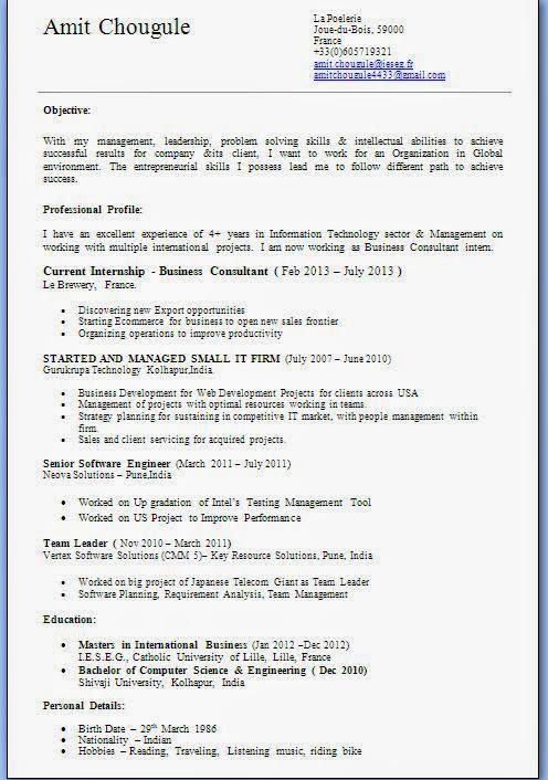 Biodata Format For Job Fresher Doc Download Lightningsword Ml