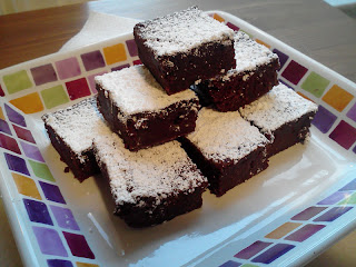 Recipe: Brownies with black garlic