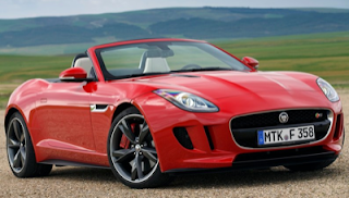 2014 Jaguar F-Type V8S red