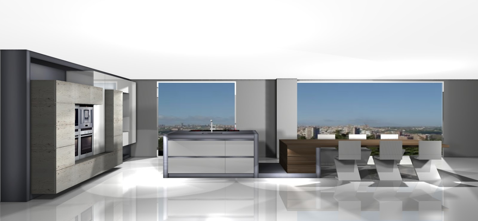 Centro kitchenmaster madrid 3d thempo con kitchenmaster for Software diseno de cocinas