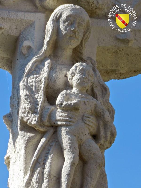 BALLEVILLE (88) - Croix-calvaire du cimetière