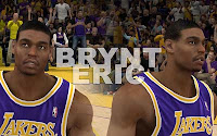 NBA2K12 LA Lakers Cyberface Patches andrew bynum