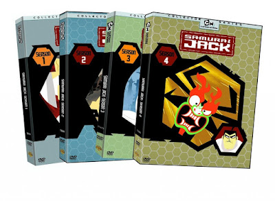 Samurai Jack Boxset Toplam 4.Sezon Türkçe Dublaj