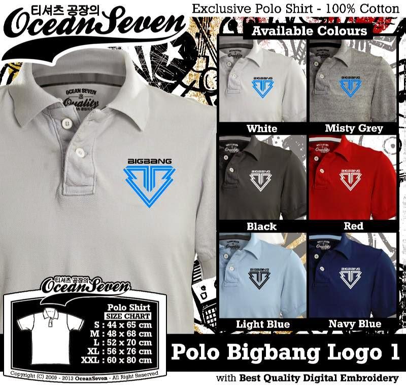 Kaos Polo Bigbang Logo 1