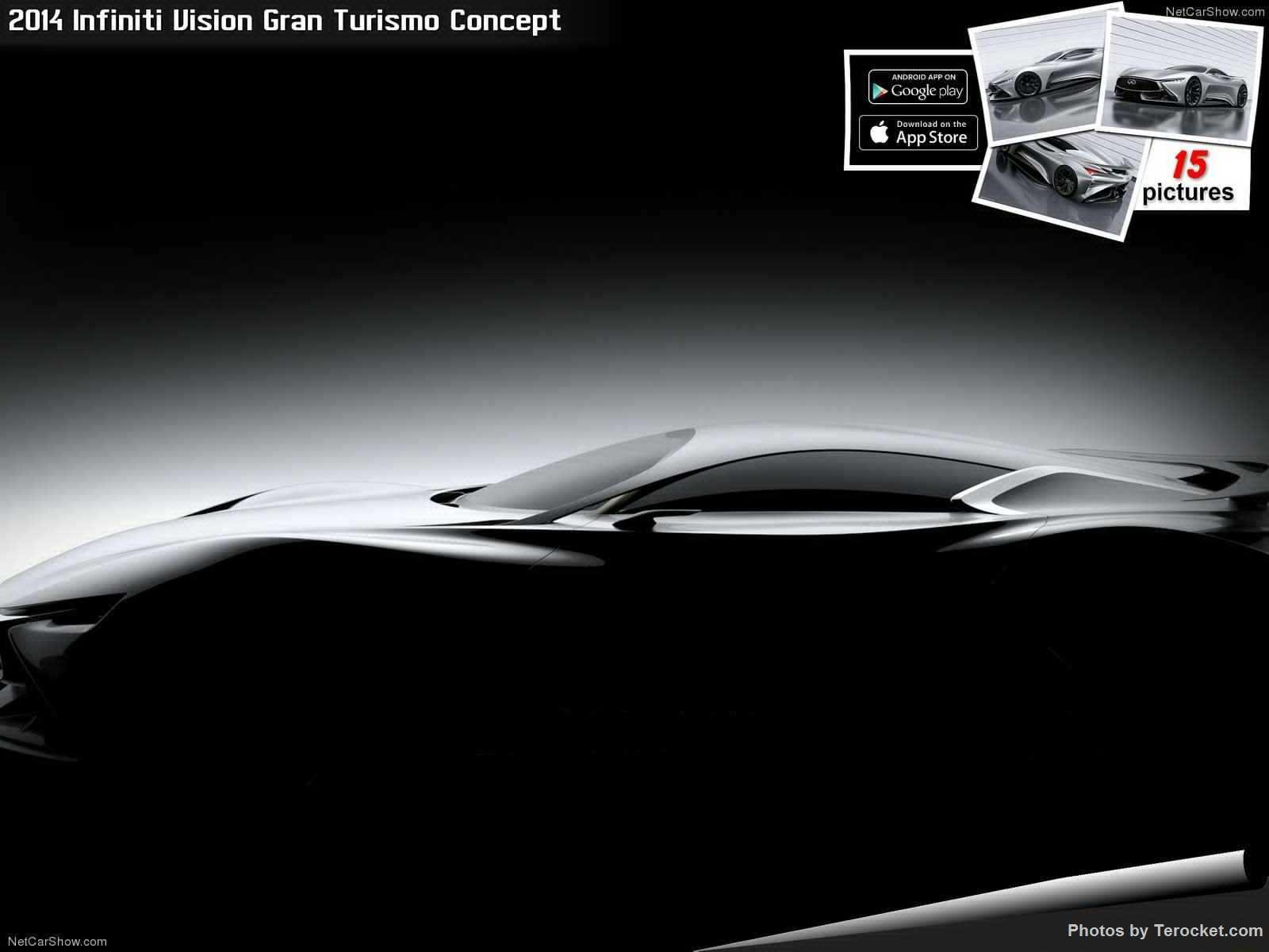 Hình ảnh xe ô tô Infiniti Vision Gran Turismo Concept 2014 & nội ngoại thất