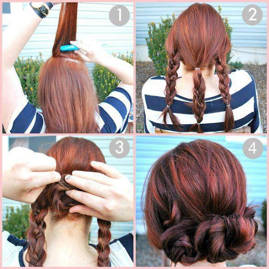 quick and simple hairstyle
