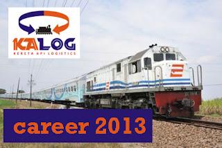Lowongan Kerja 2013 Kereta Api Logistik Januari 2013 Wilayah Jakarta & Sumatera Selatan
