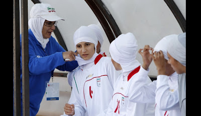 uniforme mujeres futbol iran