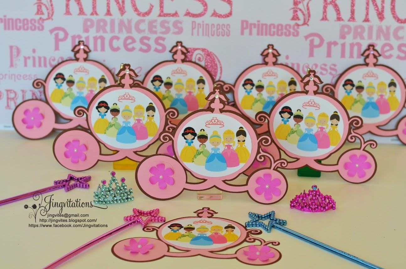 Jingvitations: Disney Princess Inspired Birthday Invitations ...