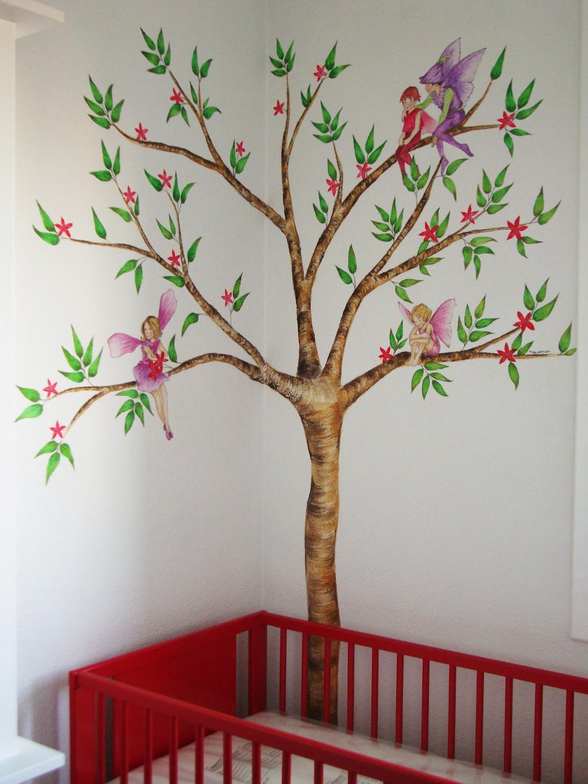 Pintura mural arte en pared y murales decorativos en for Murales decorativos para bebes