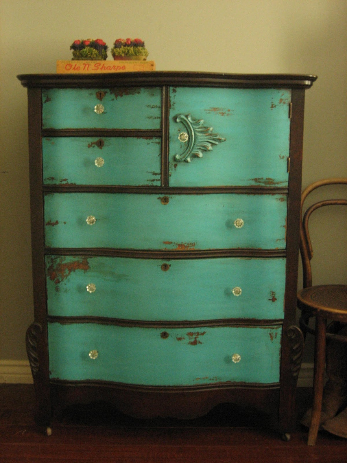 Uncategorized Turquoise Shabby Chic Furniture european paint finishes sundance dresser euro furniture anthropologie western turquoise teal chippy distressed chest of drawers antique vintage shabby chic french country