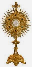 """"""" Alabado sea el Santísimo Sacramento del Altar """""""